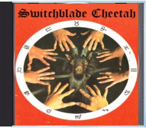 "Image of SWITCHBLADE CHEETAH ""TRASH SUCKIN' HIGH-HEELED SCUM"" CD"