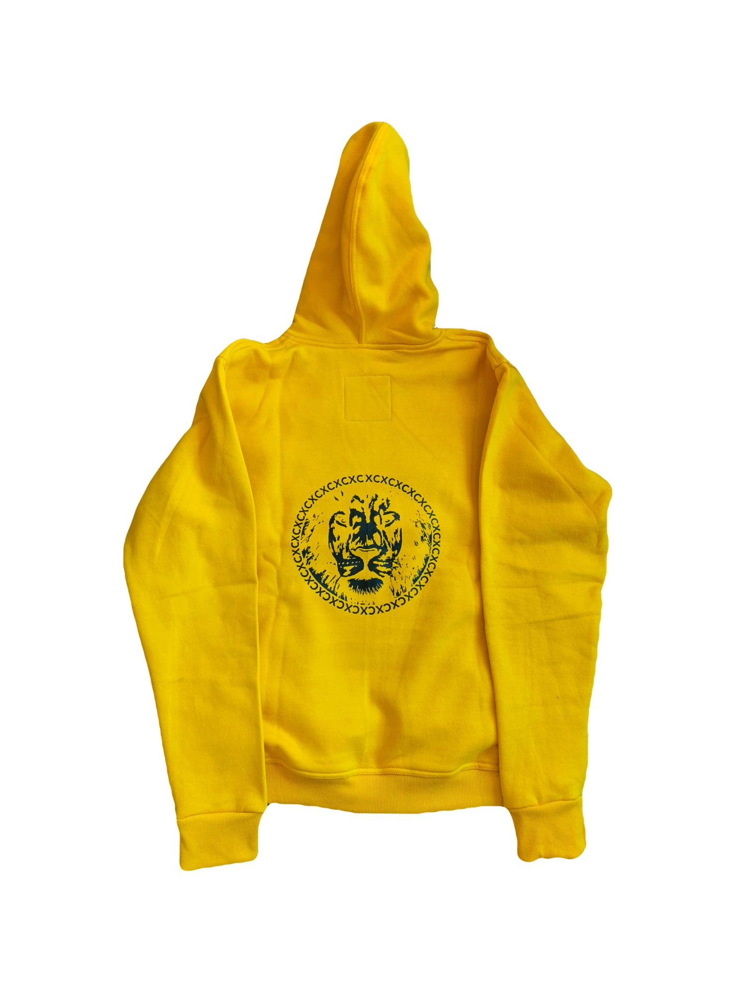 Image of Yellow Last Ones Left Sweatsuit Hoodie