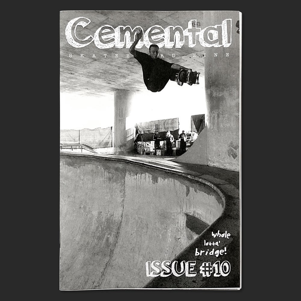 Image of Cemental Skateboard Zine #10