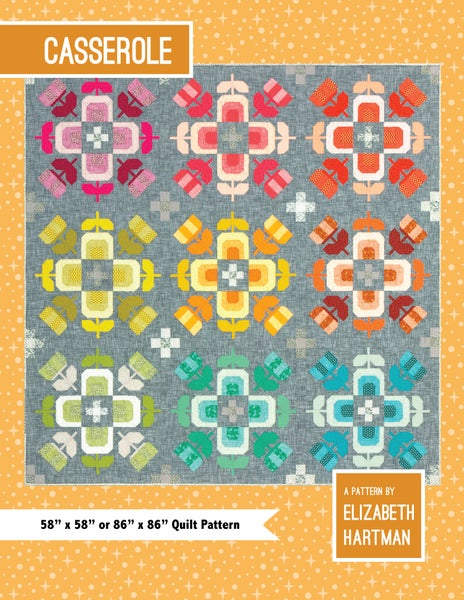 Image of CASSEROLE pdf quilt pattern
