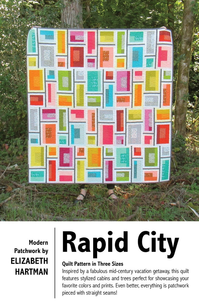Image of RAPID CITY pdf quilt pattern
