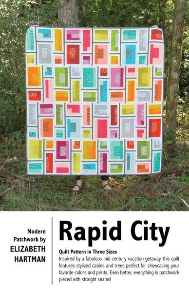 Image of RAPID CITY pdf quilt pattern