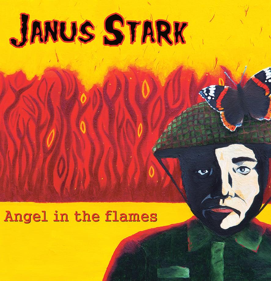 Image of T&M 035 CD - Janus Stark - Angel In The Flames CD
