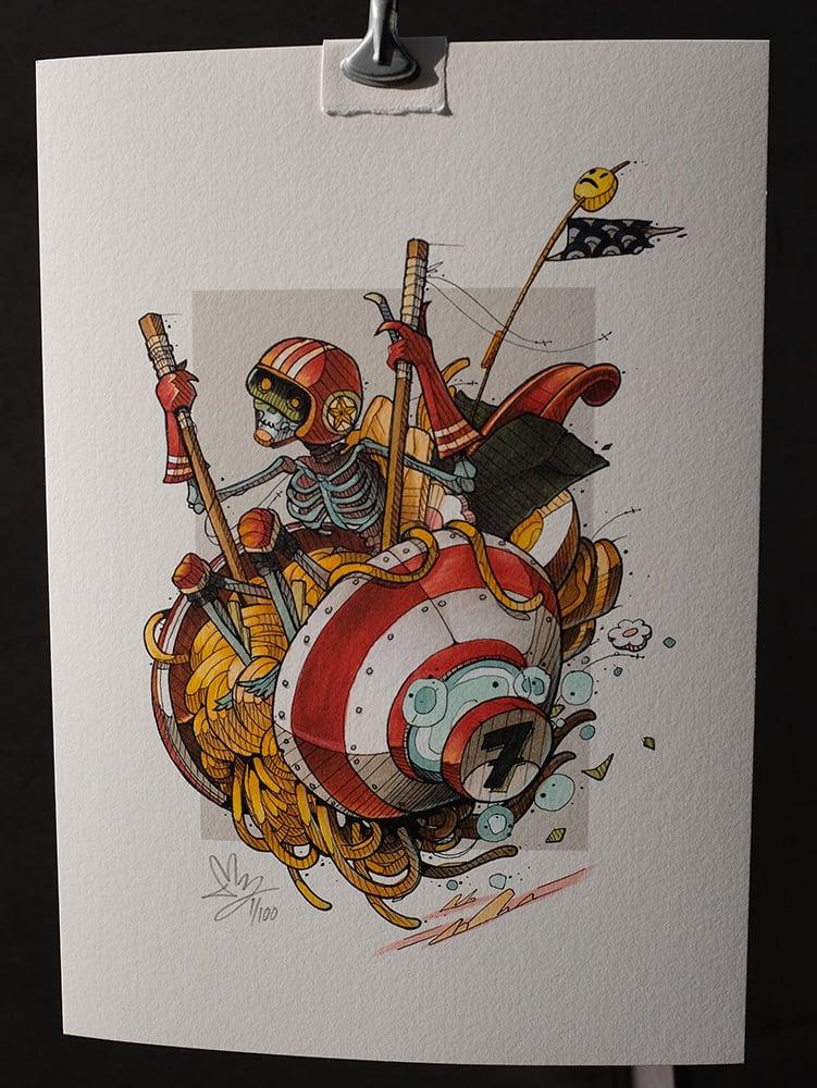Image of Ramen Rider - A4