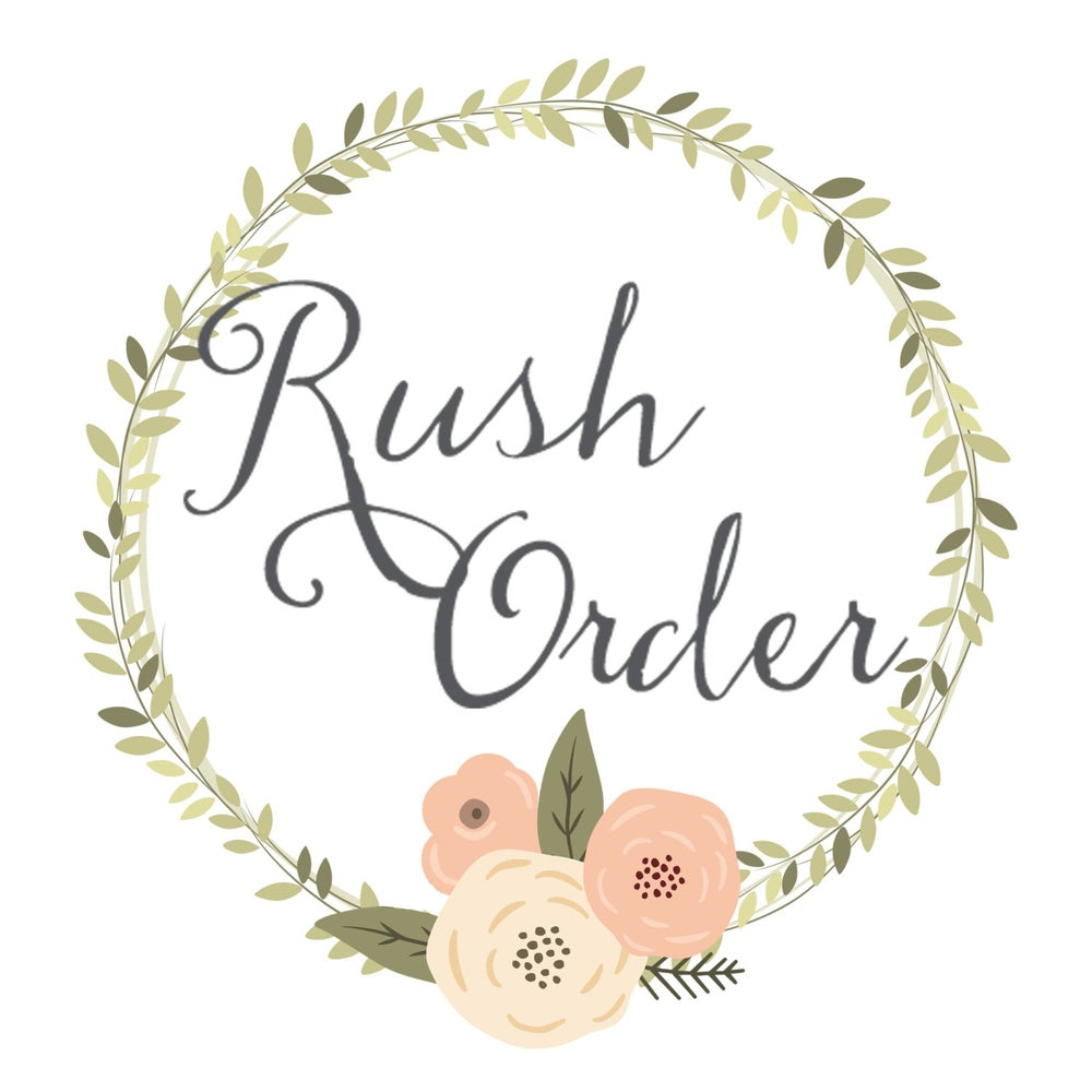 Image of Custom Size And Color / Rush Order Link