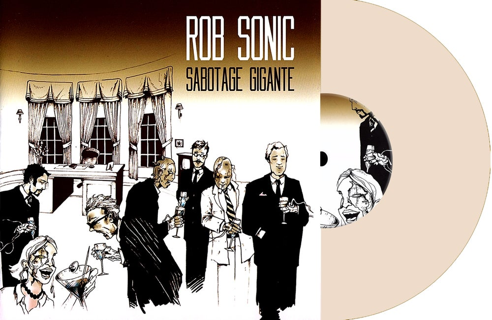 Image of Limited Edition numbered and signed Sabotage Gigante Rose Water Vinyl