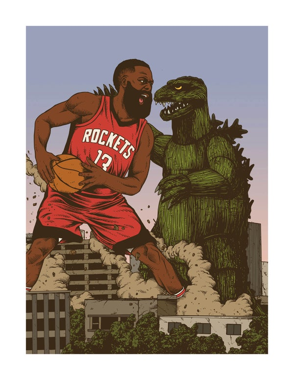 Image of Harden VS Kaiju
