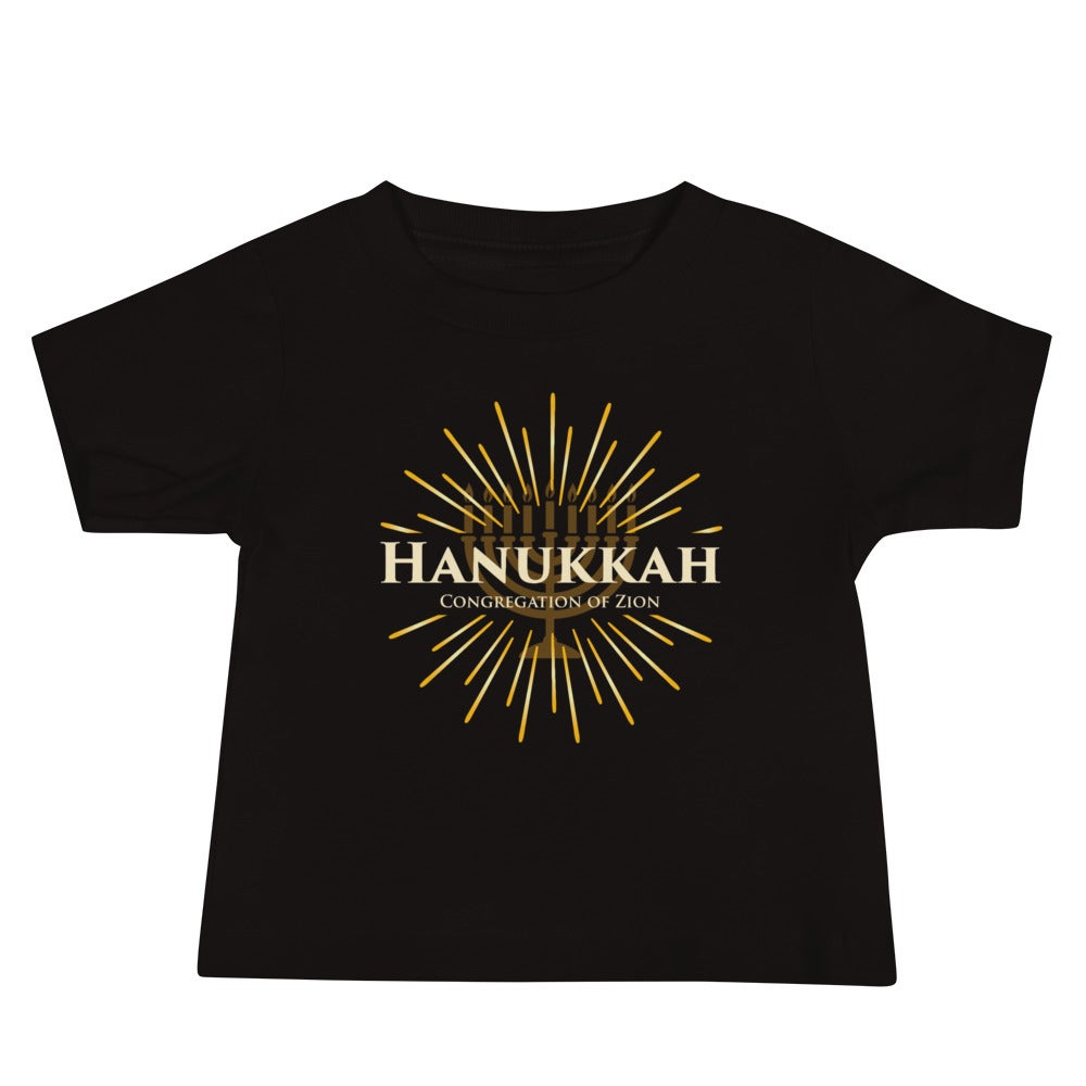 Image of Baby Hanukkah Short Sleeve Tee