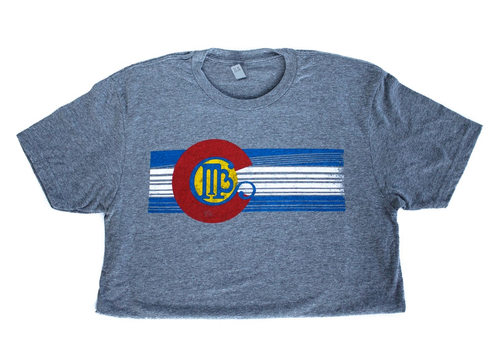Image of MBC Men's Colorado Flag T-Shirt