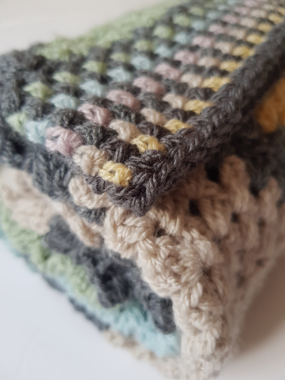 Image of Baby Twisted Granny Blanket