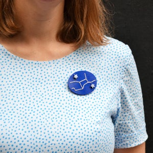 Image of Star Sign Brooches