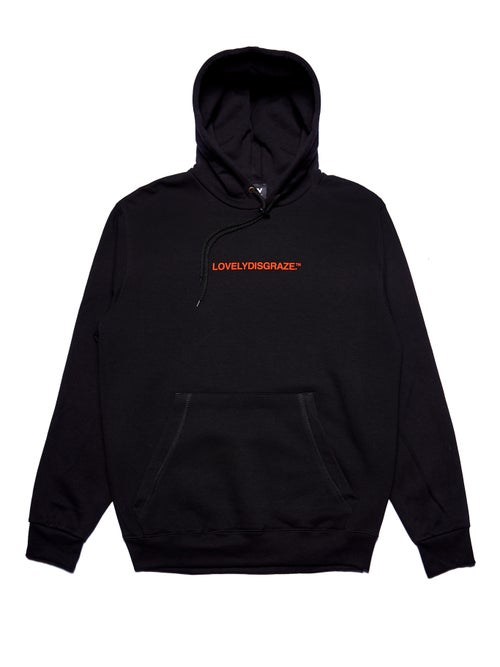 Image of NOTHING IS FOREVER - BLACK HOODIE