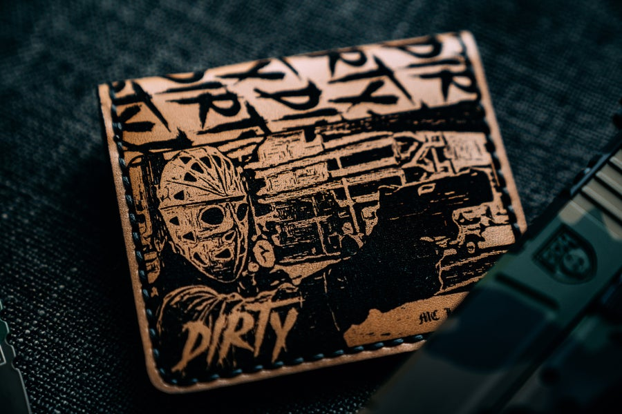 "Image of DIRTY Harry ""Outlaw"" HEAT Wallet"