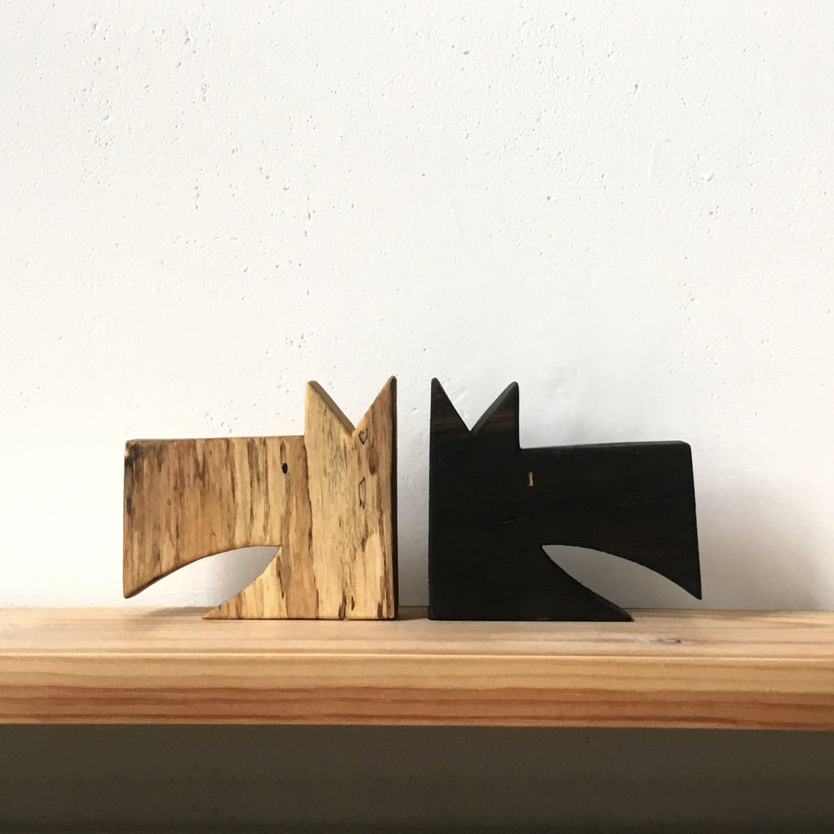 Image of Wooden Dogs