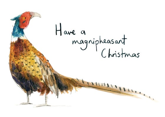 Image of Have a Magnipheasant Christmas