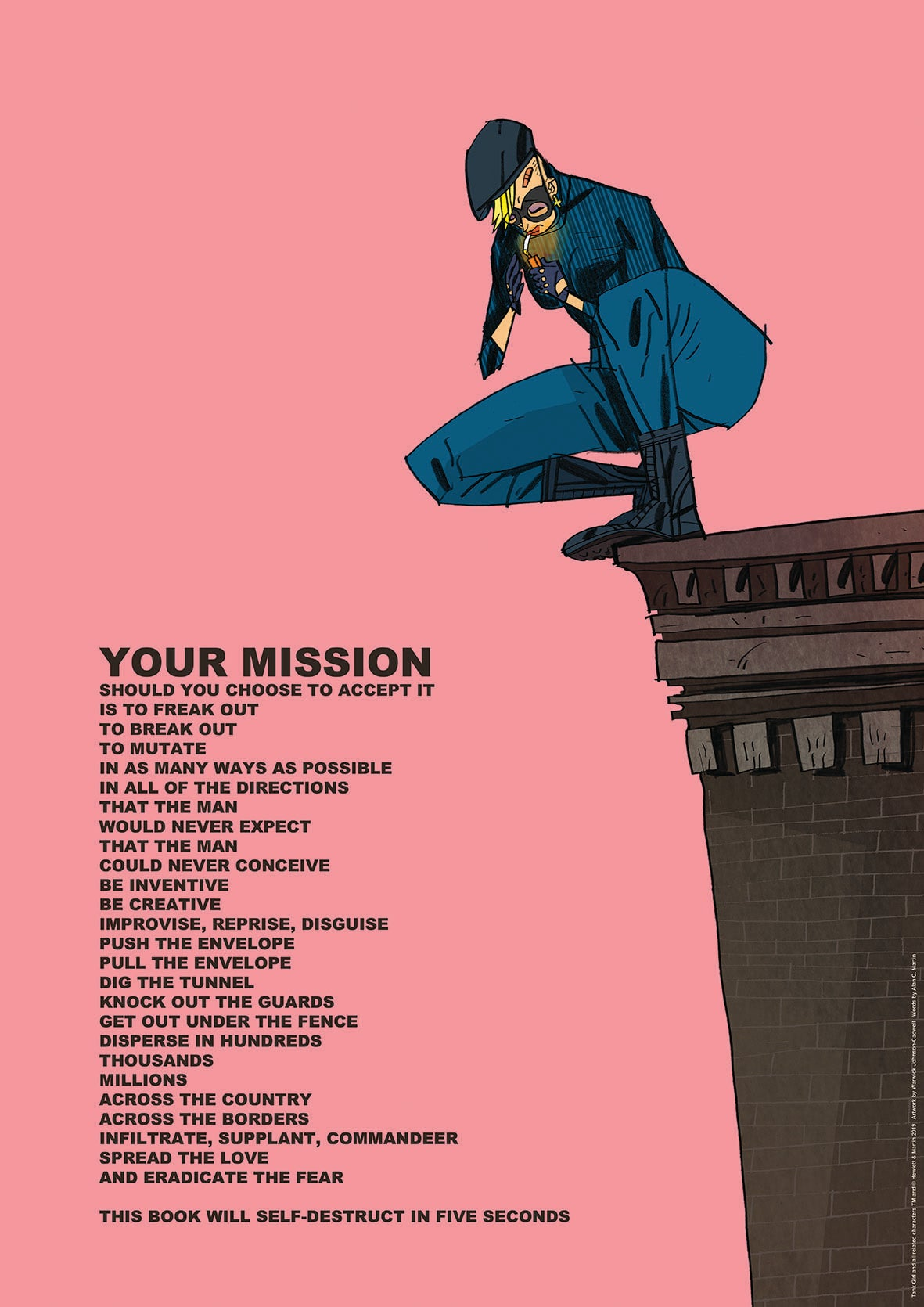 Image of YOUR MISSION & WORDS OF BARNEY Poster Print Set