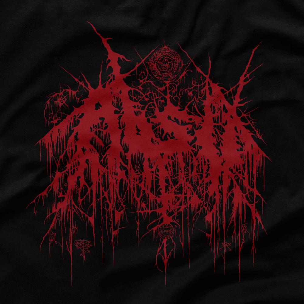 Image of ABSU - LOGO 1992 (RED PRINT) LONG SLEEVE