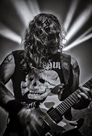 Image of Marduk - World Funeral Skull T-shirt