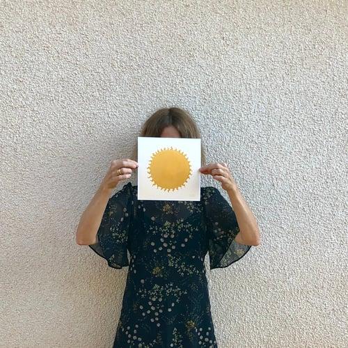 Image of art prints :: sun & cactus