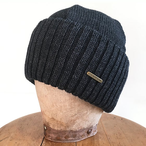 Image of STETSON BEANIE NORTHPORT GREY