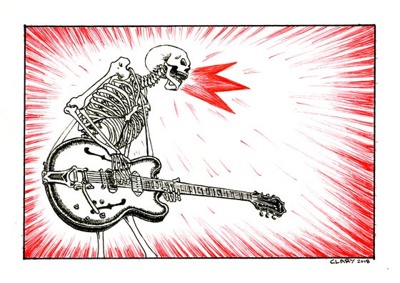 Image of Rock them Bones! PRINT