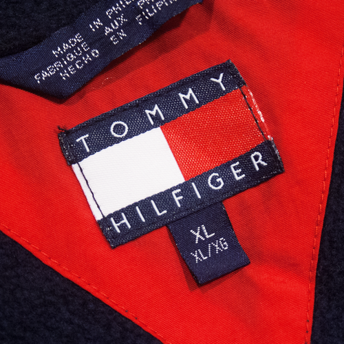 Image of Tommy Hilfiger Vintage Heavy Jacket Size XL Fits L