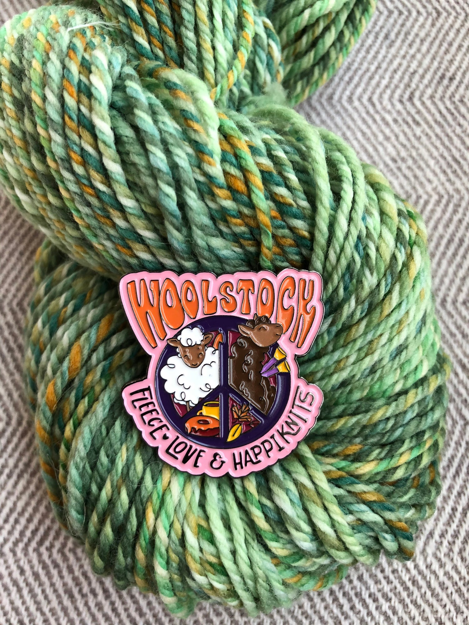 Image of Woolstock: Love Fleece and Happiknits