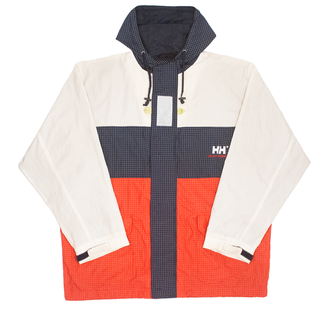 Image of Helly Hansen Vintage Windbreaker Reflective Size M fits L