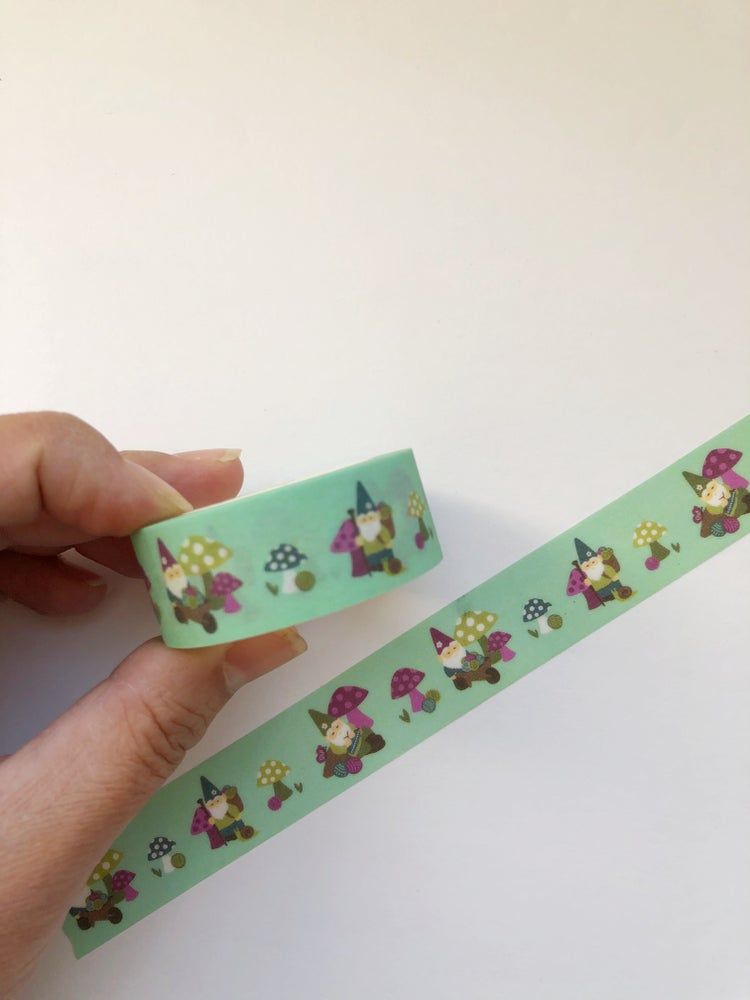 Image of Gnome Sweet Gnome Washi Tape