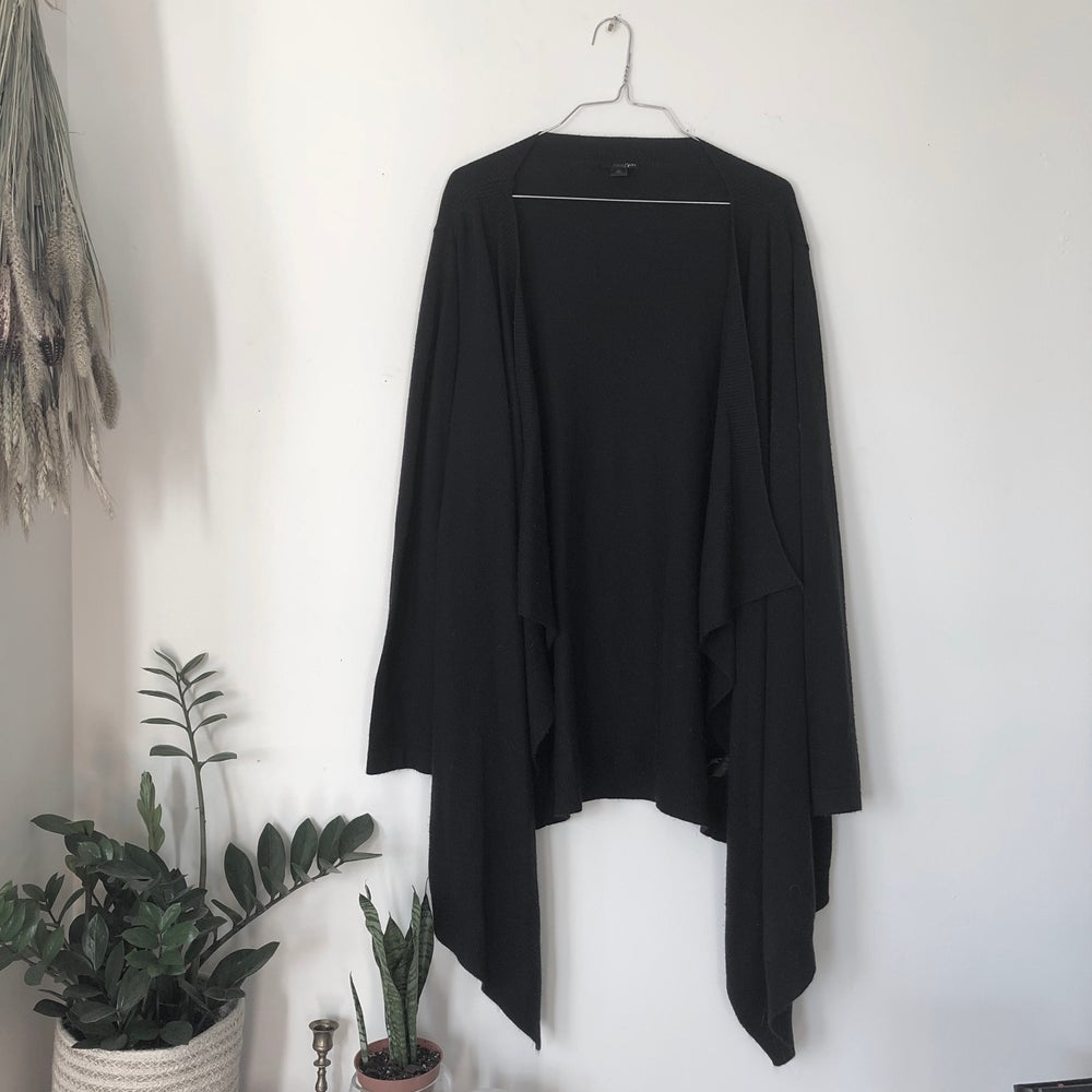 Image of Black Drapey Cardigan