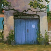 Image of Southern France IV, The Blue Doors