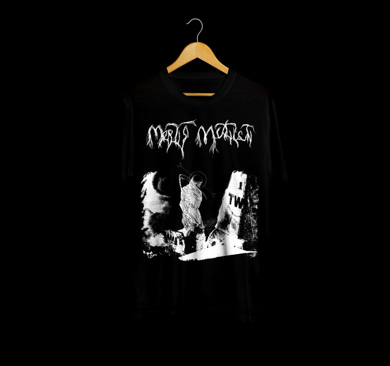 Image of Aerial disaster T-shirt Black