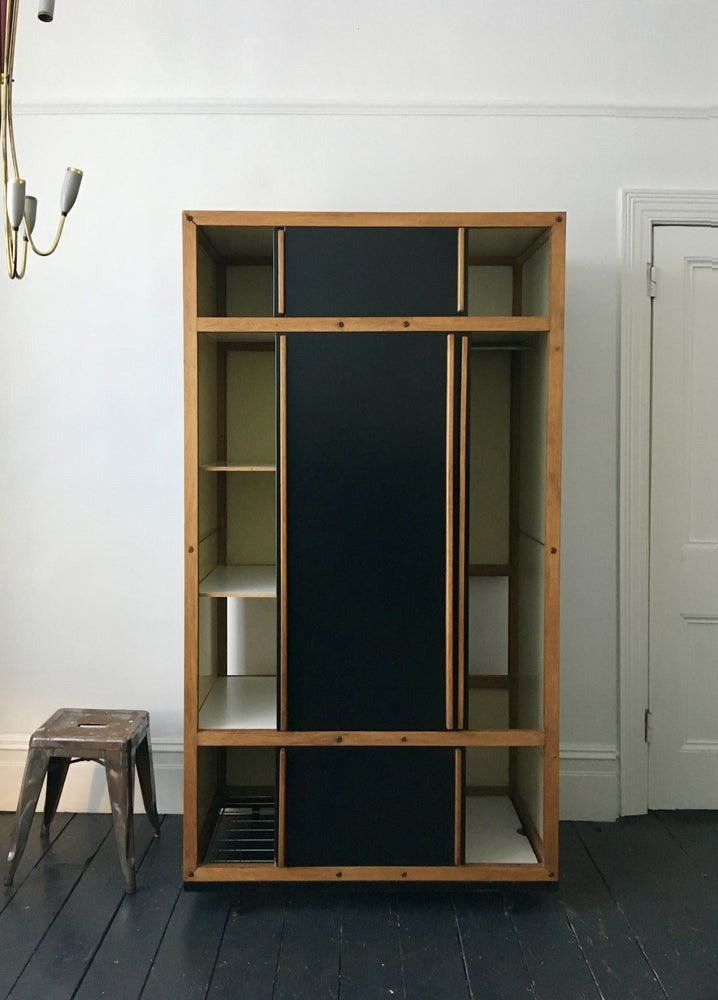 Image of Modernist Cabinet or Armoire by André Sornay