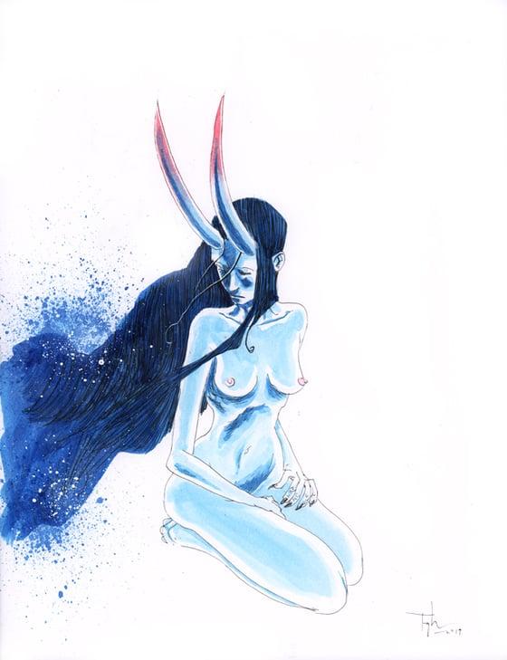 Image of INKTOBER 2019 ORIGINAL ART