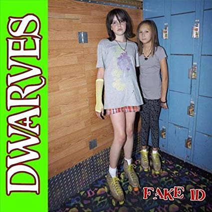 "Image of THE DWARVES ""FAKE ID"" 10"" 1st pressing pink vinyl....18 copies left!!!"