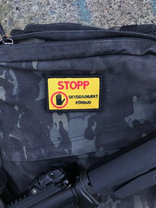 Image of STOPP - SKYDDSOBJEKT
