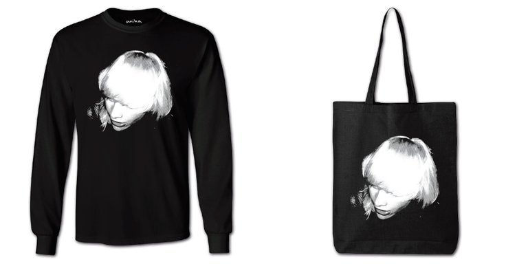Image of 'Anika' Long Sleeve Shirt + 'Anika' Tote Bag