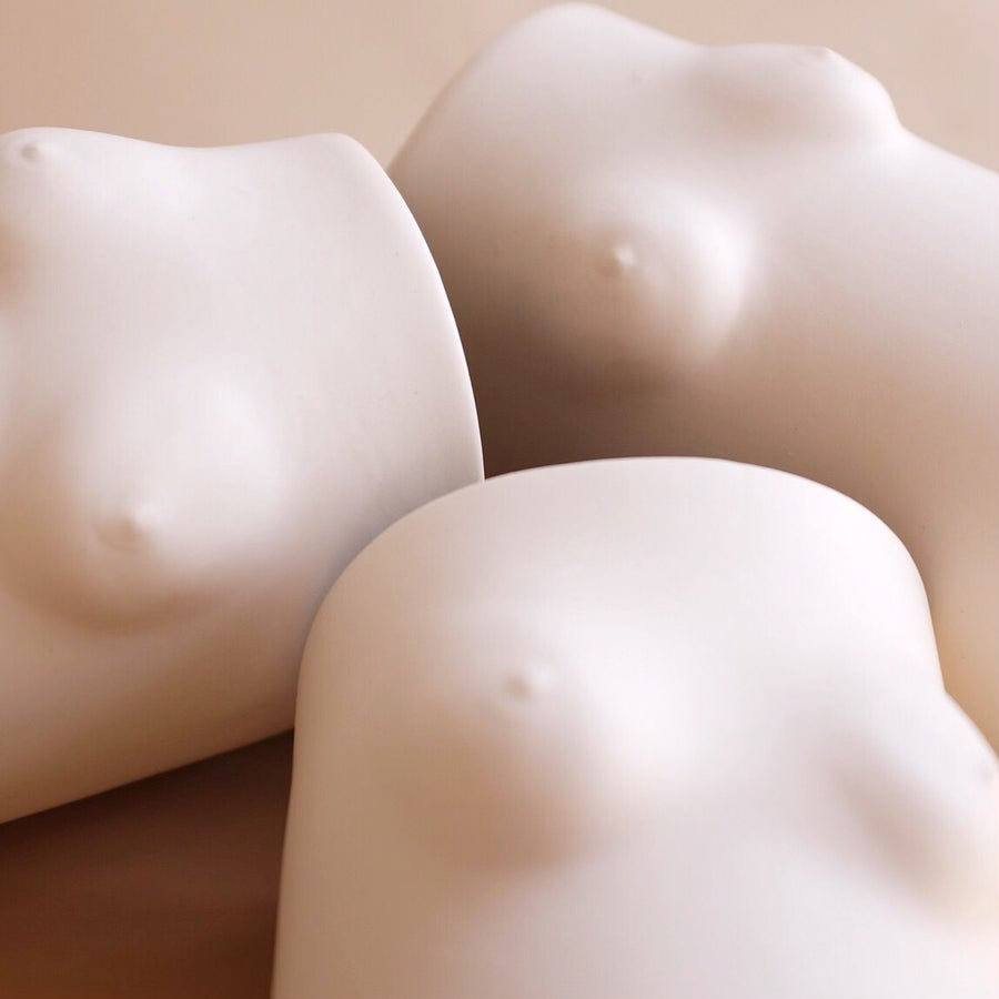 Image of Boobs Vase Porcelain
