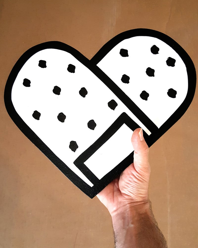 Image of Original Heart Bandaid - PREASALE!! shipping on MAY 2020!!