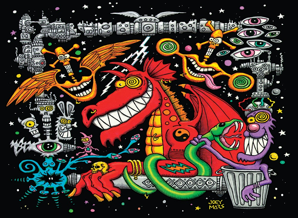 Image of Dragon Dream (limited edition print)