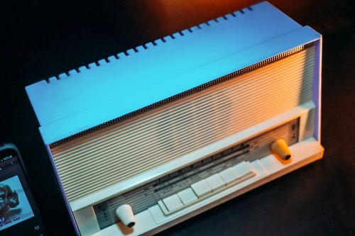 Image of LIBELLULA R4 (1964) RADIO VINTAGE BLUETOOTH