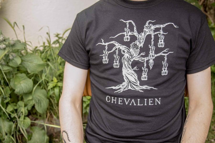 Image of CHEVALIEN - ALLRATS LOGO - MAN CUT
