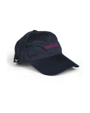 Image of 'Break Jumps' Cap - Navy