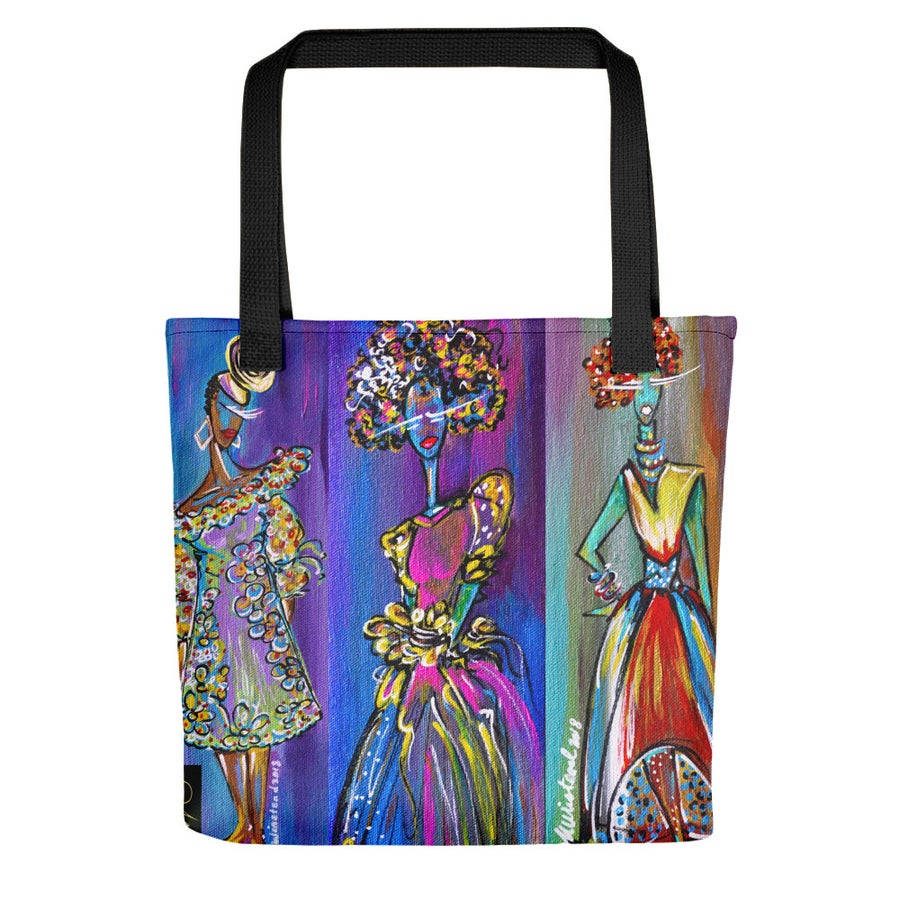 "Image of ""Three Divas"" Tote"
