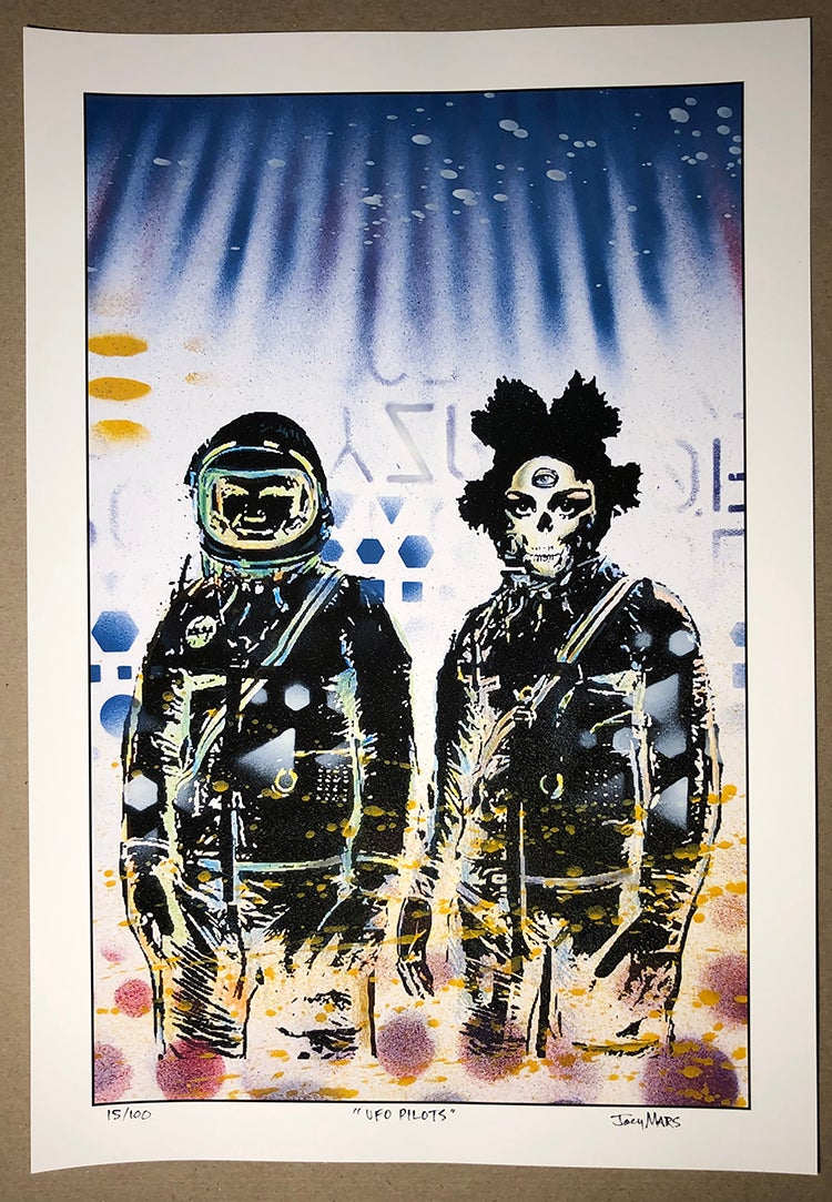 Image of UFO Pilots (limited edition print)