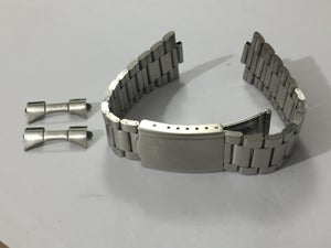 Image of ORIENT 22MM S/STEEL GENTS Sports Watch Strap,Curved Lugs,New.