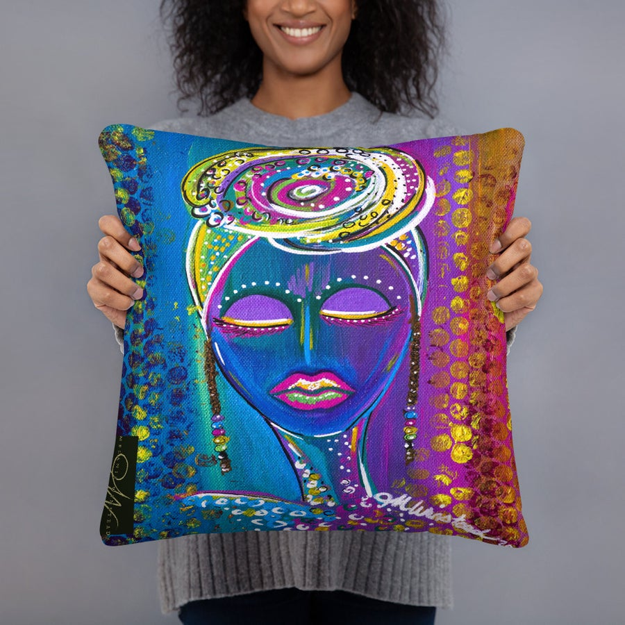 "Image of ""Still"" Pillow"