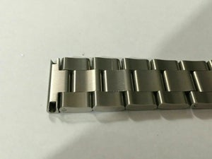 Image of SEIKO SOLID S/STEEL OYSTER GENTS WATCH STRAP,STRAIGHT/FLAT LUGS,20MM/22MM-NEW.