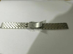 Image of SEIKO SOLID S/STEEL TURTLE GENTS WATCH STRAP,STRAIGHT/FLAT LUGS,20MM/22MM-NEW.