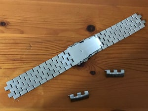 Image of SEIKO SOLID S/STEEL TURTLE GENTS WATCH STRAP,CURVED LUGS,22MM-NEW.